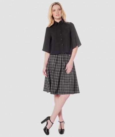 Lace 3/4 blouse